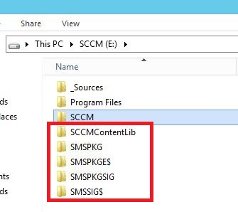 SCCM Move Content Library