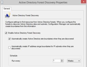 Create Boundary section won't provide multi-domain Active Directory 01