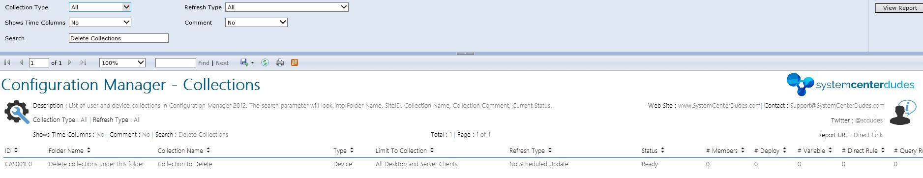 Powershell script to delete older collections in a folder in SCCM