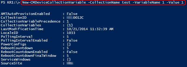 New-CMDeviceCollectionVariable creating only 1 variable