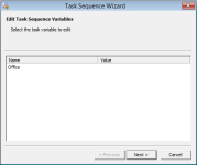 Collection variables Task Sequence