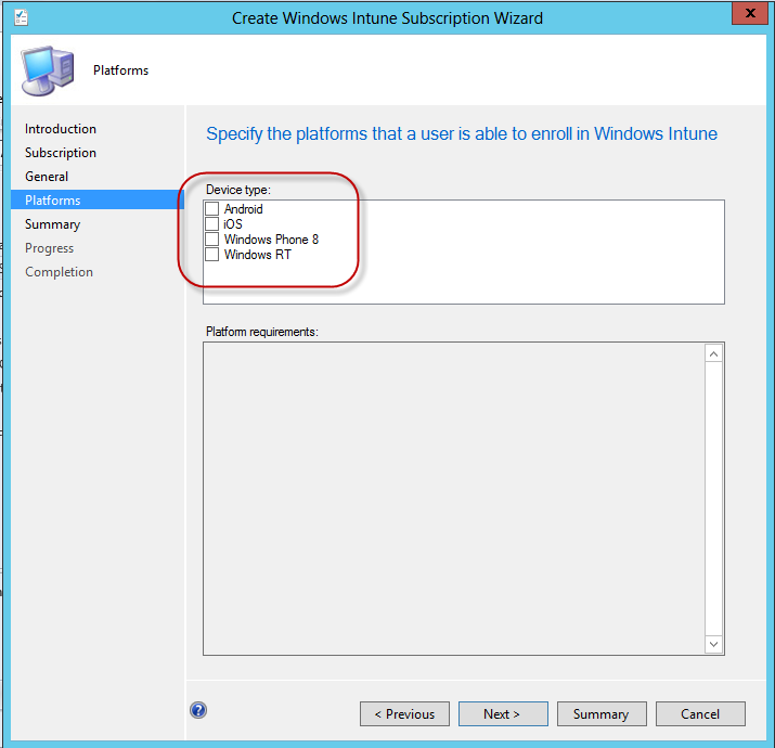 sccm 2012 intune integration