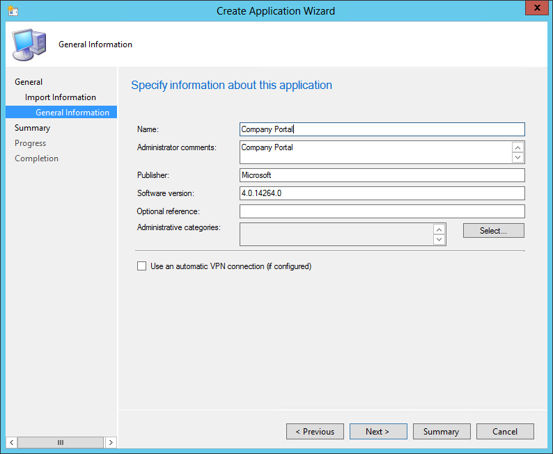 SCCM Windows Phone device enrollment