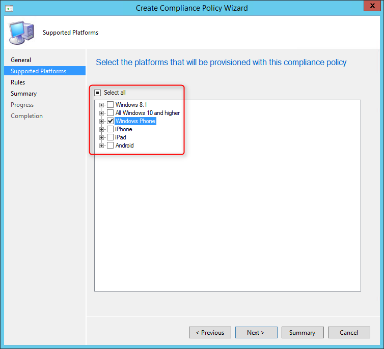 SCCM 2012 R2 SP1 new features