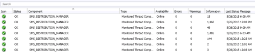 SCCM 2012 distribution point monitoring