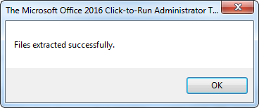 Deploy Office 2016 using SCCM 2012 - Click-to-Run Version
