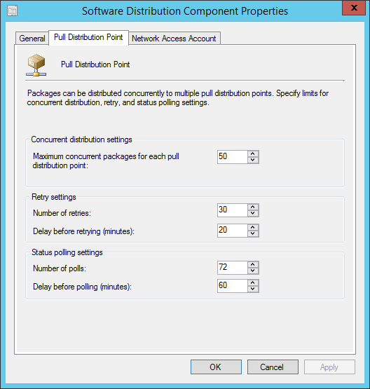 sccm 2012 pull distribution point bandwidth