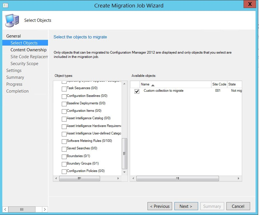 Step-by-step SCCM 1511 Migration to New Hardware