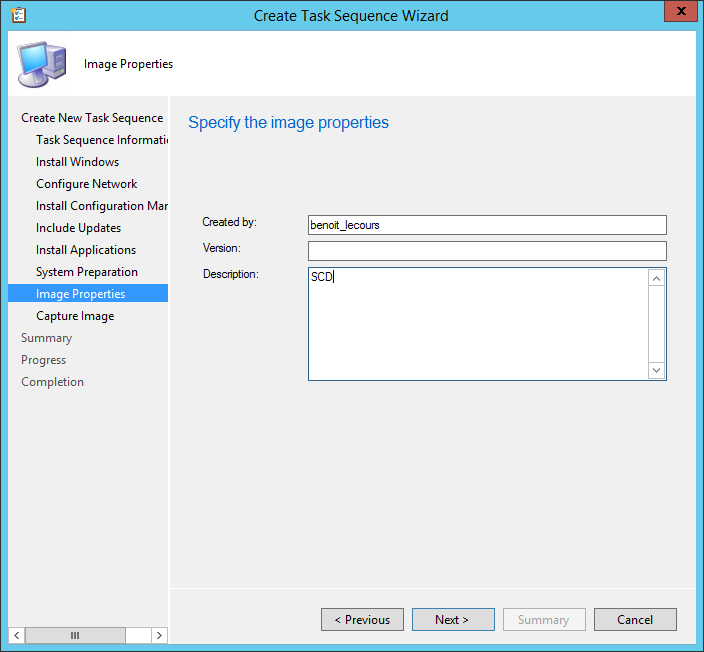 SCCM Windows 10 Build and Capture Task Sequence