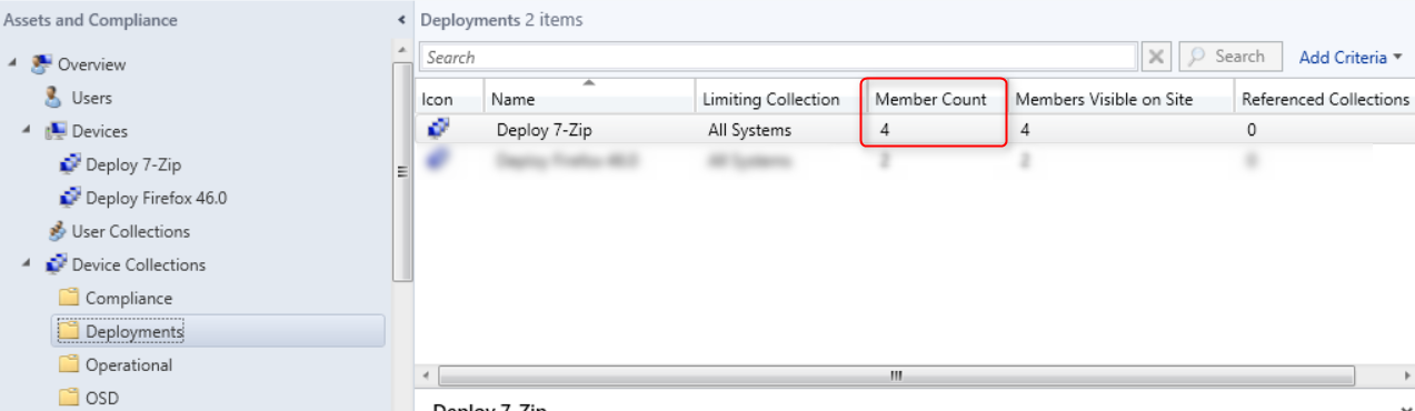 SCCM dynamic queries