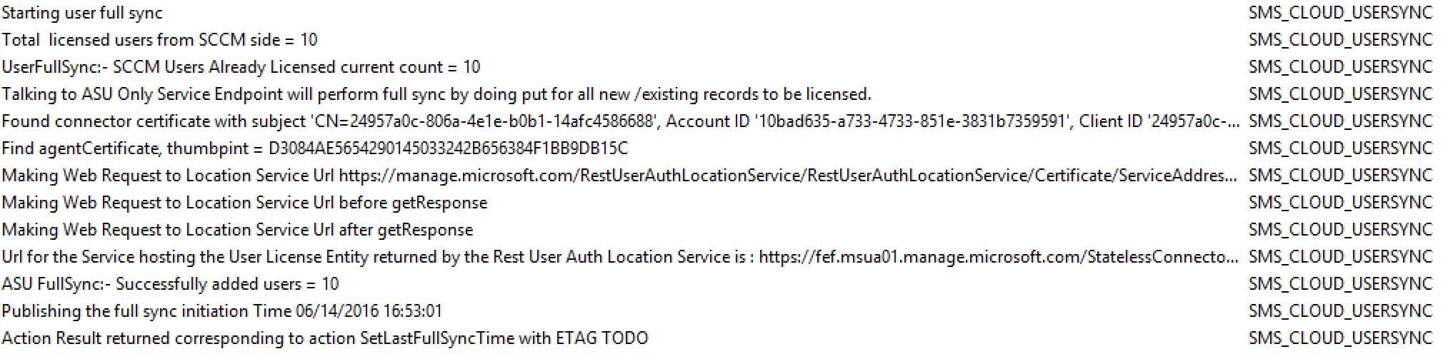 Intune Error User License Type Invalid