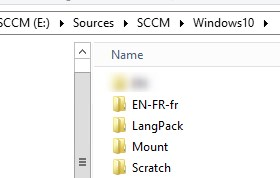 Inject Language pack Windows 10