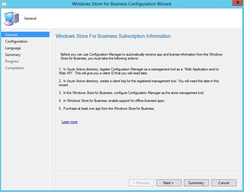 Add windows store apps to sccm | Can we add application(link