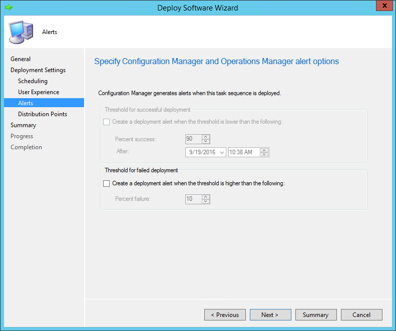 Windows 10 SCCM Task Sequence Upgrade