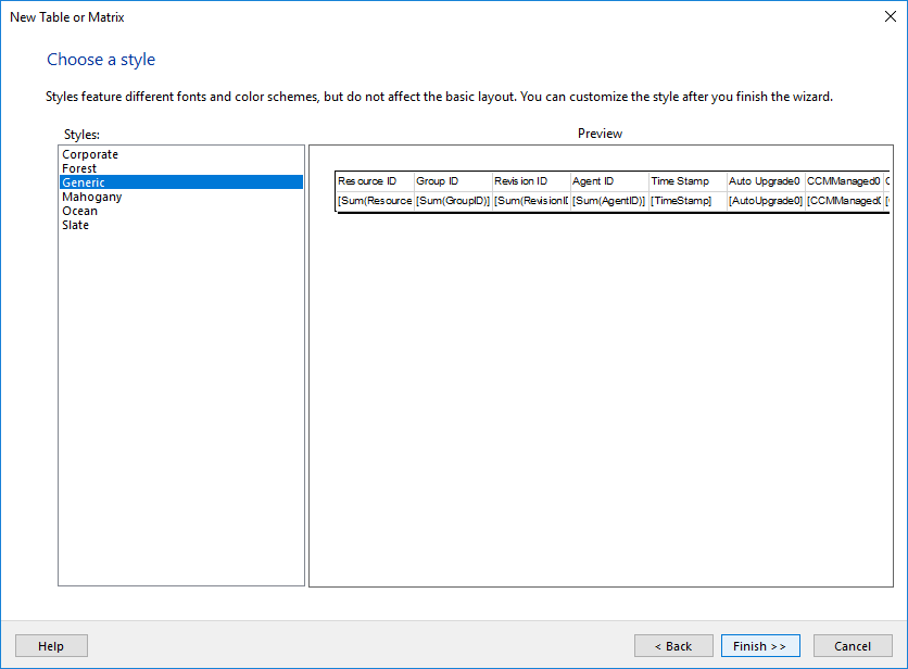 Step-by-Step SCCM Report Creation using Report Builder