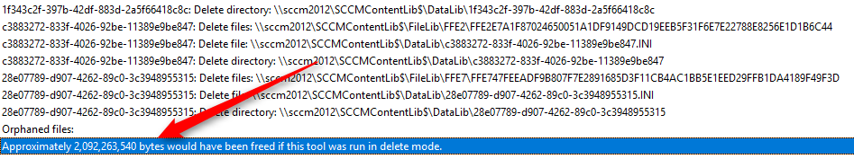 SCCM Content library cleanup tool