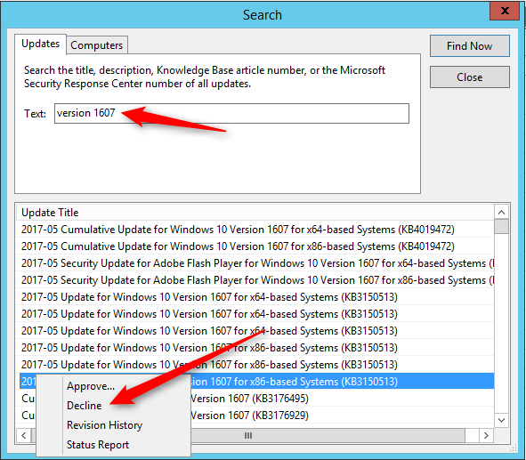 SCCM Software Update Scan Error 0x80240fff