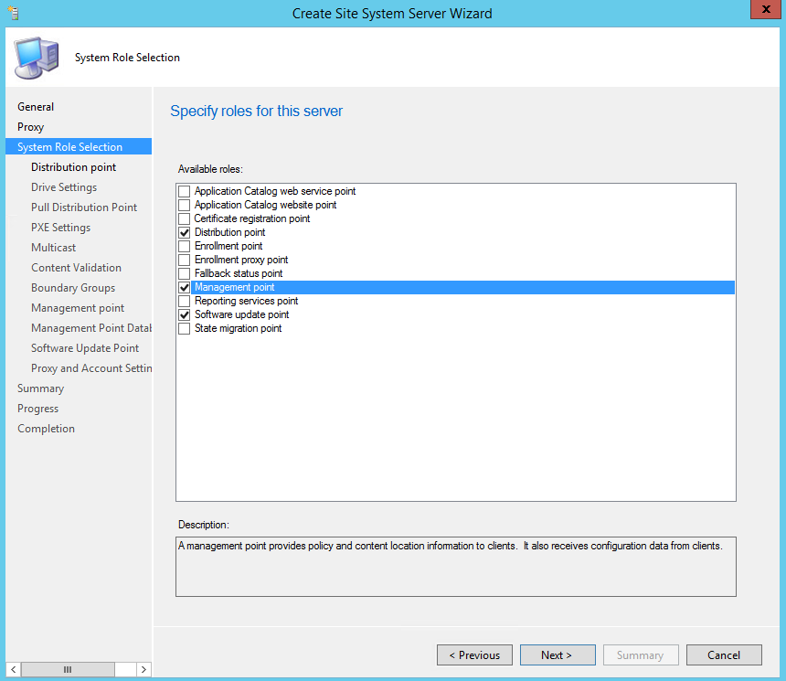 Installing SCCM DP MP SUP Untrusted Domain