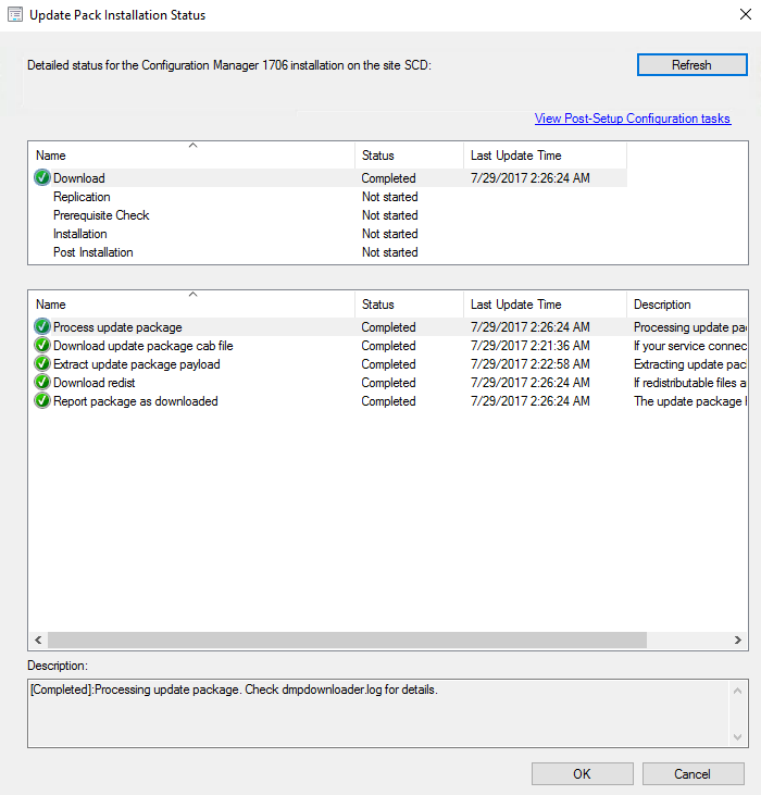 SCCM 1706 Upgrade Guide