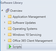Deploy PowerShell Scripts using SCCM 1706