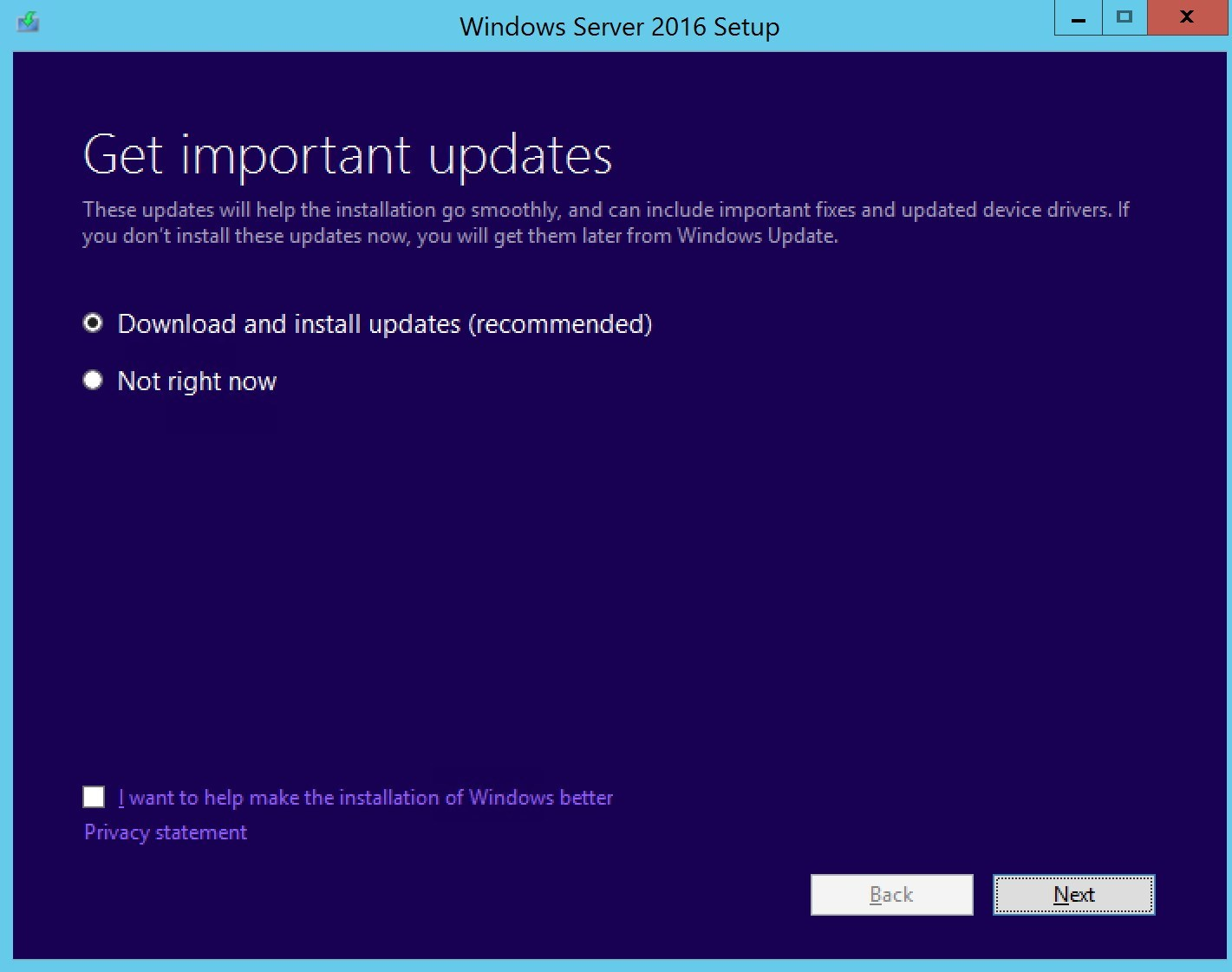 In-place OS upgrade for SCCM site server
