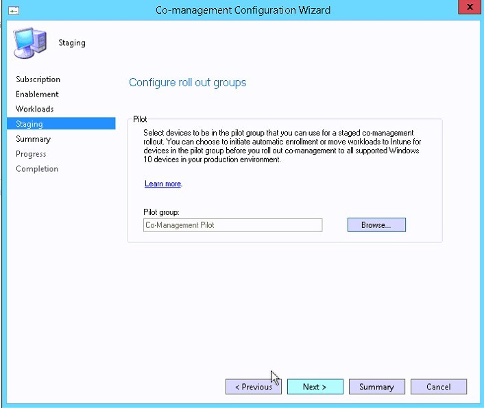 How to enable SCCM 1710 Co-Management