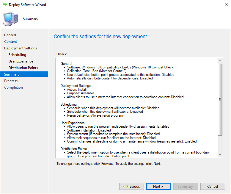 Windows 10 Compatibility Check using SCCM and Report
