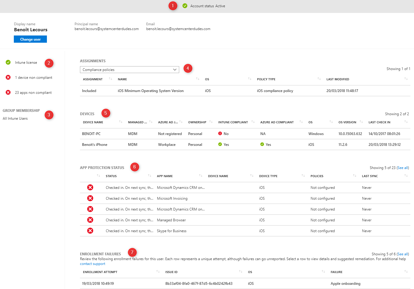 Intune Troubleshooting Portal