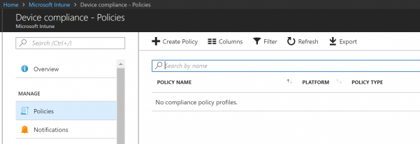 Intune enforce iOS version