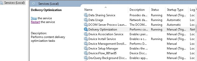 Configure Delivery Optimization in SCCM Task Sequence