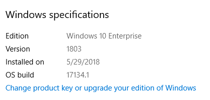 SCCM Windows 10 1709 to 1803 Upgrade Guide