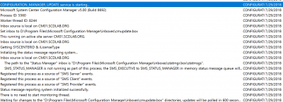 SCCM 1902 Upgrade Guide