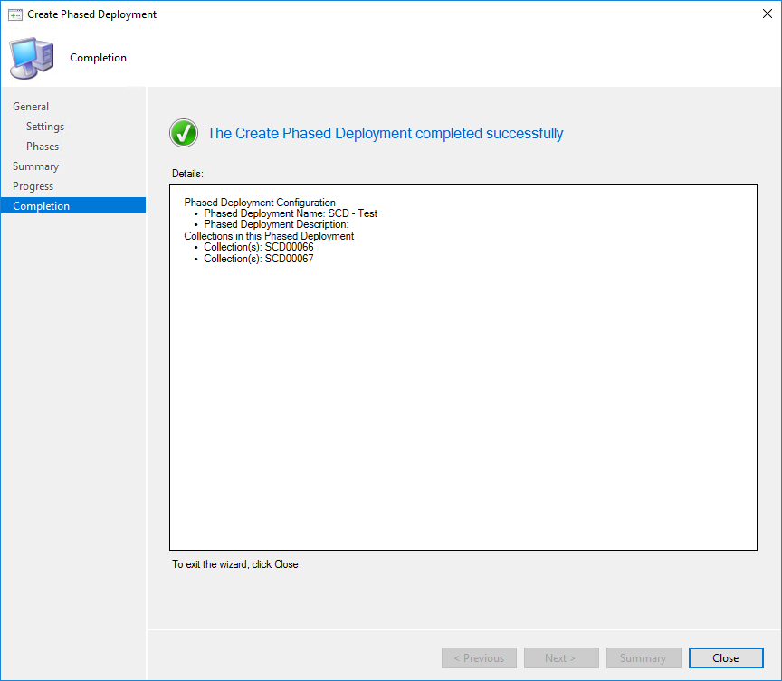 SCCM Application Phased Deployment