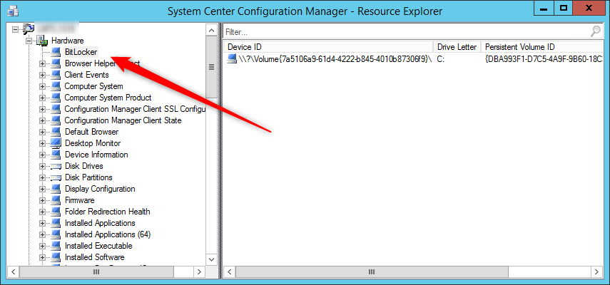 Sccm Bitlocker report