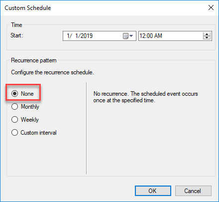 SCCM Remove Recurring Schedules Collections Script