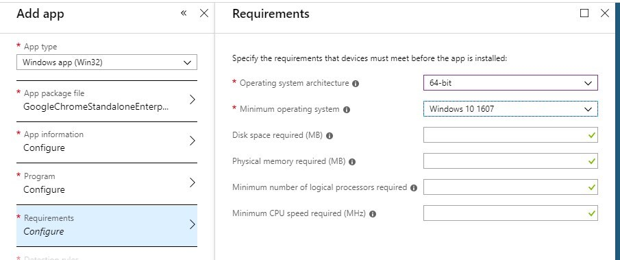 Intune Win32 Application