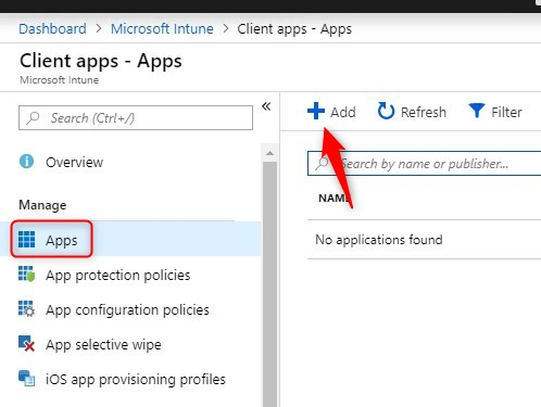 Intune Office 365 deployment