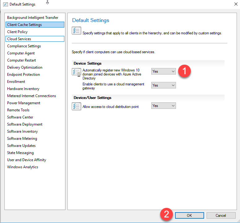 How to enable Co-Management in SCCM 1902