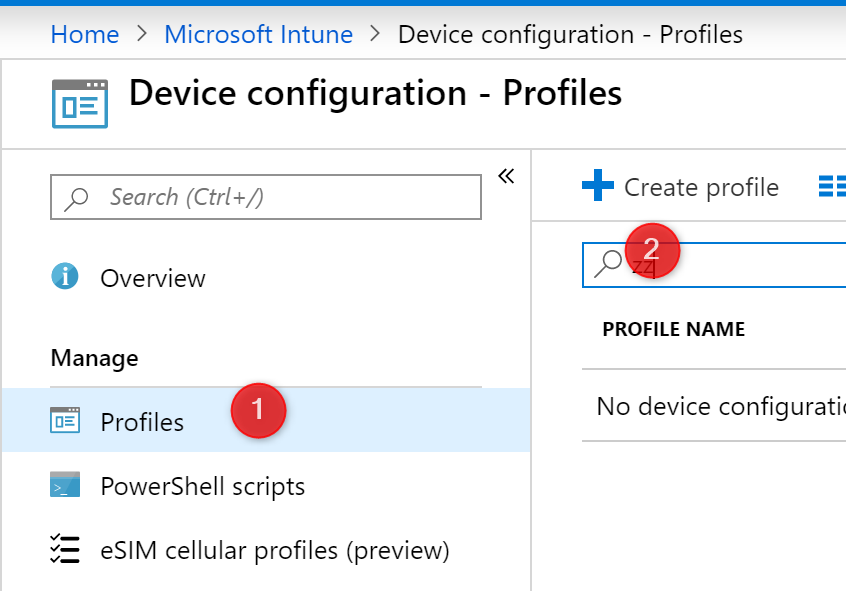 Intune Device Profile User Login Restriction