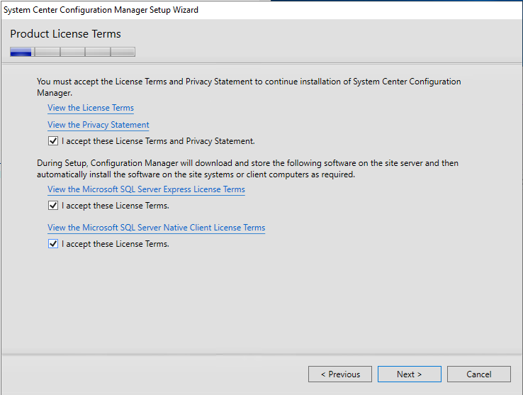 SCCM Current Branch Installation