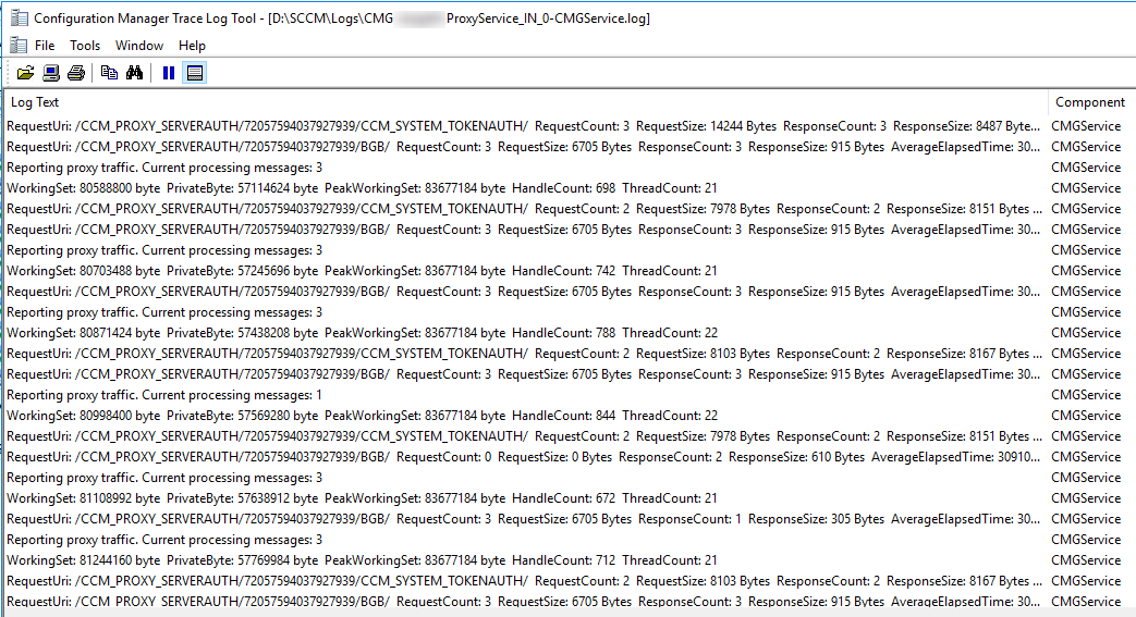 SCCM CMG Troubleshooting