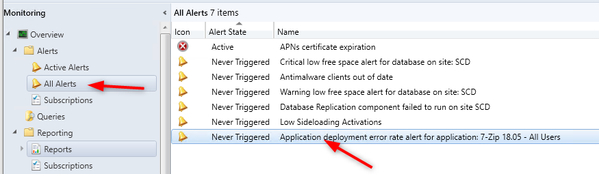 SCCM Email Notifications